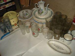Посуда, тарелки б.у. 30 штук 1 лотом