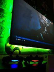 Игровой PlayStation клуб - игровой зал