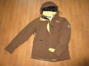 Jack Wolfskin Женская теплая куртка 2 в 1 (ветровка, флисовая кофта)