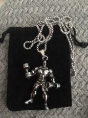 Оригинальный подарок(кулон,цепочка мужская)гантеля,брелок,блин,гиря.