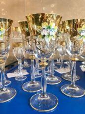 Bohemia Бокалы для виски вина шампанского богемия лепка СКИДКИ 30%