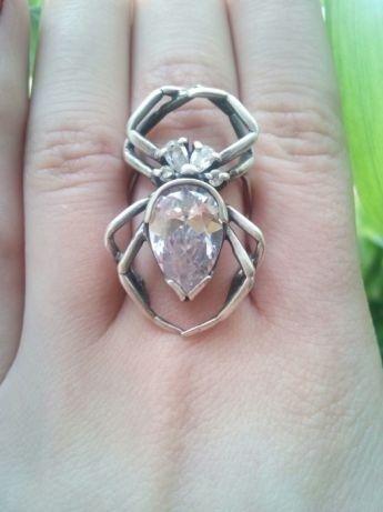 Серебряное кольцо перстень колечко серебро 925 паук срібна каблучка. 1 из 6 1be10dcae68c9