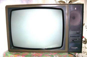 "Цветной телевизор ""Берёзка 61 ТЦ – 311 Д"" на тантало"