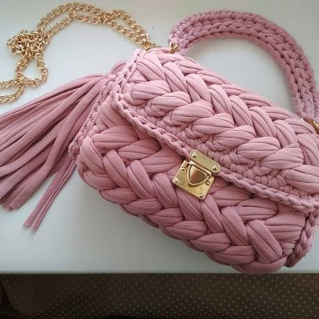 сумка Zefirka из трикотажной пряжи 850 грн сумки кривой рог