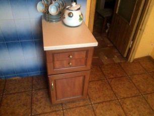 Кухонная тумба. Нижняя секция BRW комод кухня тумбочка шкаф