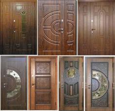 Двери уличные, входные с ковкой, стеклопакетом Лучшая цена!