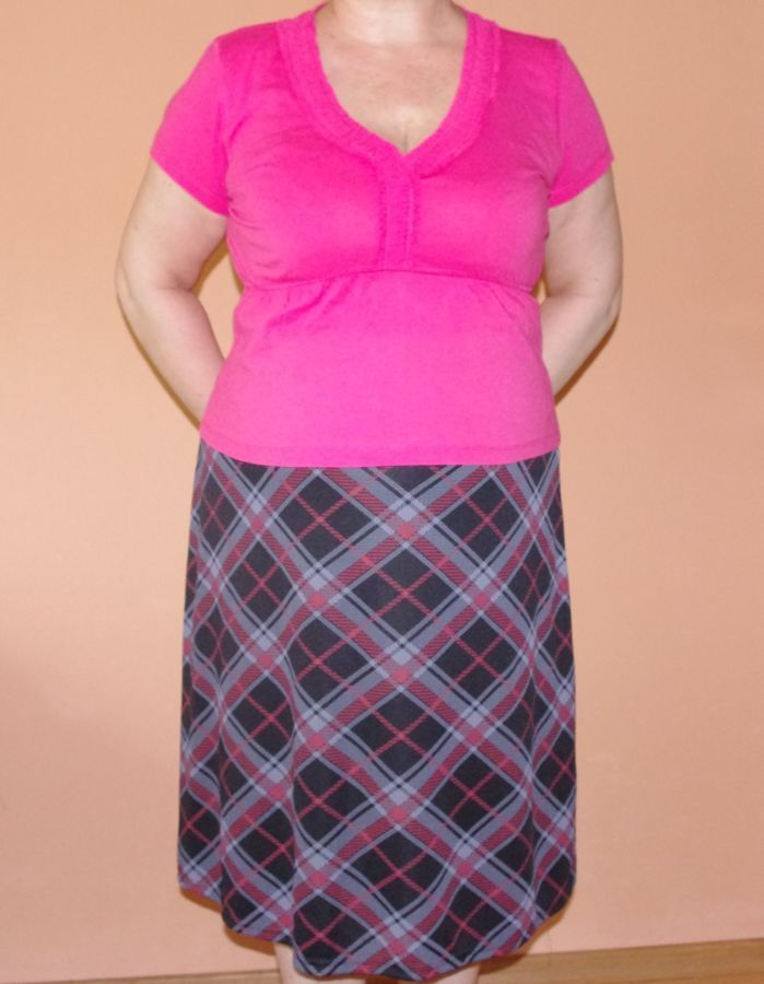Блузка летняя новая с оборкой трикотажная кораллового цвета 52 размер