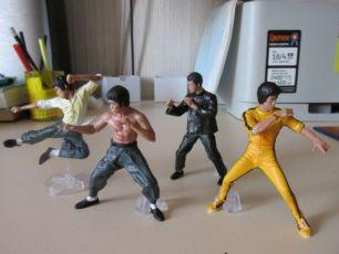 Брюс Ли - фигурки, кунг-фу. Разборные статуэтки.