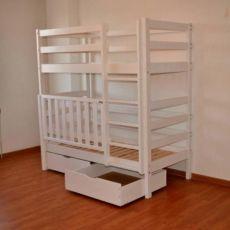 Двохярусне ліжко-манеж, Двухярусная кровать с манежем