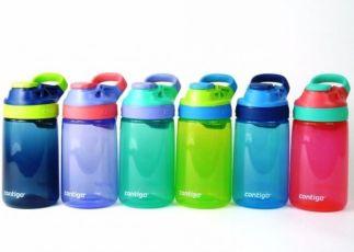 Детская бутылка непроливайка Contigo Gizmo Sip Kids, 420 мл