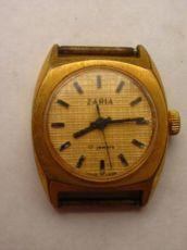 Часы заря (zaria), часы зоря пр-ва СССР, позолоченные Au-10