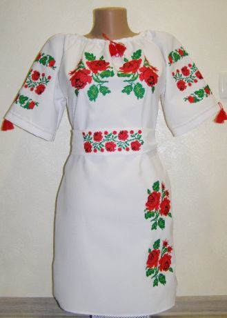 Вишите плаття для дівчинки. Вишиванка  550 грн. - Інше Хмельницький ... ae479b3ebaab8