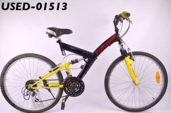 Горный бу велосипед Fischer - из Германии у нас Большой выбор