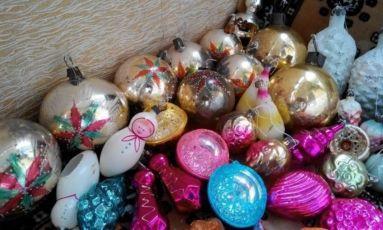 Новогодние елочные игрушки СССР