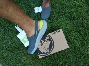 Кроссовки крокс, crocs , слипоны, мужская обувь, топсайдеры