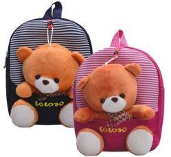 Детский рюкзак со съёмной игрушкой, рюкзак-игрушка Мишка Тедди