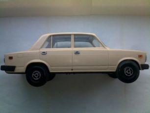Машинка (автомобиль) Ваз / Жигули 2107 Цвет масштаб 1:10 игрушка Ссср