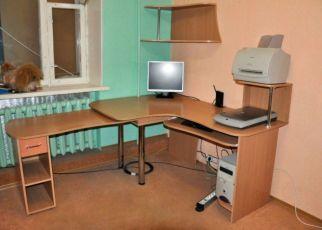 Продам угловой компьютерный стол-трансформер + полка