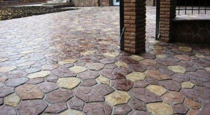 Плитка тротуарная,гранилит от 115 гр.