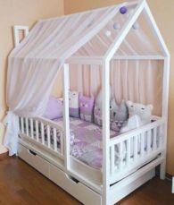 Кровать-домик, кровать-чердак, двухъярусная