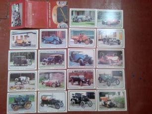 Набор открыток «Ретро автомобили»