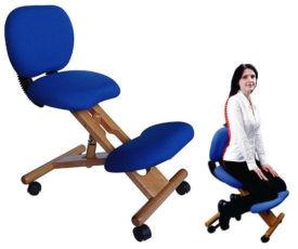 Коленный ортопедический стул ( кресло ) корректор для улучшения осанки