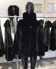 Шикарный полушубок норка Blackglama.Chrisos furs.гарантия.норковая шуб