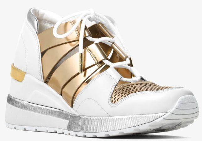 2b980568dc56 Сникерсы туфли-кроссовки женские Michael Kors (белые, золото). Новые ...