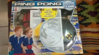 Настольный теннис приставка, пинг понг, ping pong, Tv box, телевизор
