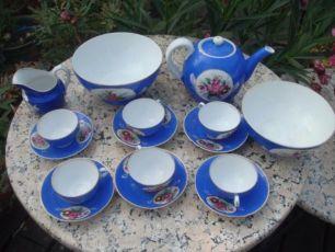 Чайный сервиз Гарднер. Русский фарфор XIX век, персидская торговля