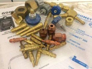 Ремкомплект на газовый резак Донмет. есть другие см. фото