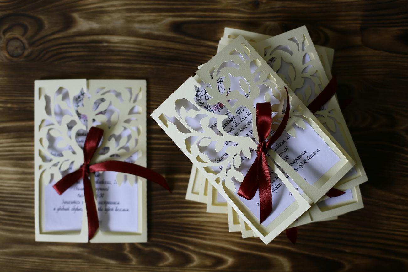 Свадебные пригласительные, приглашения на свадьбу, приглашения Киев