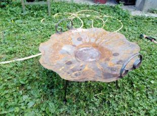 Сковородка с диска бороны, сковорода гриль, садж 56 см.