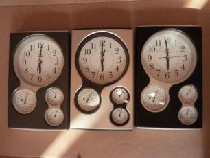 Часы настенные PEARL с барометром термометром гигрометром НОВОЕ!