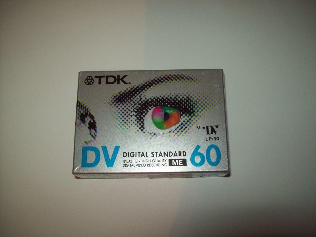 Кассета Mini DV TDK DV 60 Япония Japan