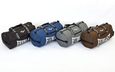 Сумка спортивная Everlast 0155 с длиной ручкой (сумка бочонок): 50х25