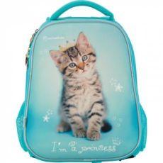 Рюкзак Kite с котенком , школьный рюкзак и пенал котик котенок
