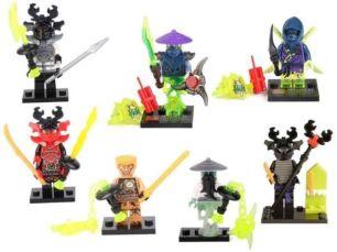 Новые минифигурки Лего Lego Ninjago ниндзяго