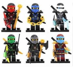 Новые фигурки лего lego Ninjago ниндзяго