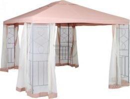 Садовая беседка альтанка садовый павильон шатер 3х4м h 2,8м новый упак