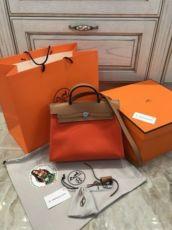 Сумка Hermès Herbag ZIP Натуральная кожа