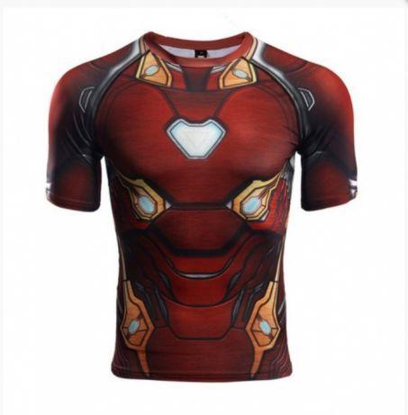 601e076d3e84 Продам спортивную футболку Iron man (Железный человек), размер L ...