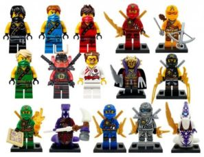 Качественные минифигурки Лего lego Ninjago Ninja-go ниндзяго Оверлорд