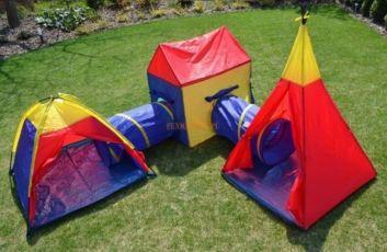 Палатка детская большая 5в1, детская площадка, дитяча палатка 5в1