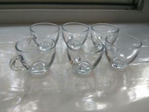 Чашки Pasabahce чайные кофейные кружки посуда стекло