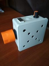Вентиляторный блок, дымогенератор