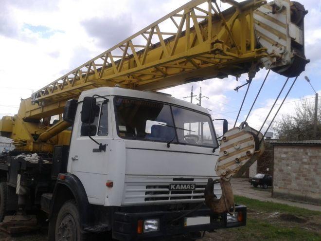 Оренда Автокран ИВАНОВЕЦ КС 3575 10 тонн