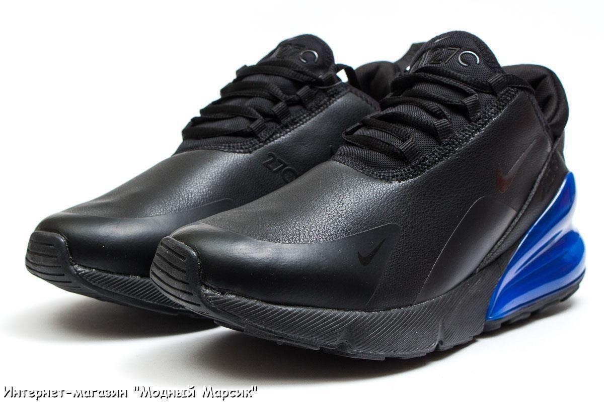 Модные кожаные кроссовки Nike Air 270, черные, р. 41 - 45, AF14021 ... b54aae154d3