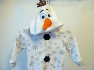 Костюм человечек снеговик Олаф