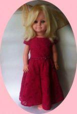 Кукла немецкая, ГДР, 60 см. Лялька времен СССР.